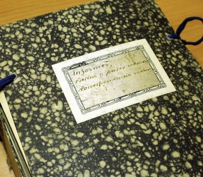 Troballa de correspondència postal encautada i informes polítics de presos de l'Albagés